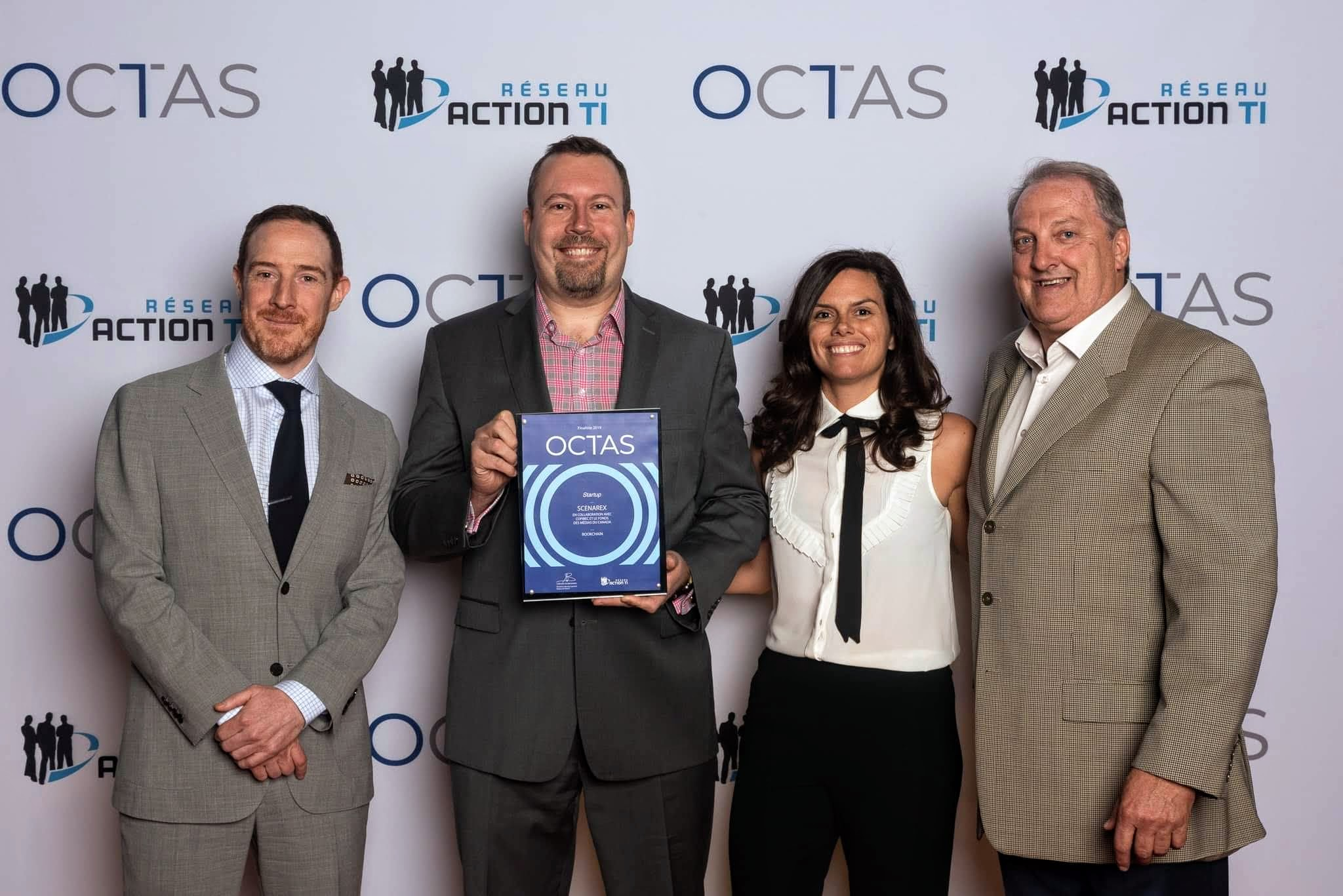Scenarex finaliste OCTAS 2019